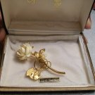 Ivory Rose Pin by Giovanni (Vintage)