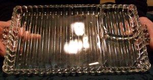 Hazel Atlas Snack Plate  (Vintage)