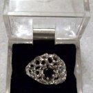 925 Silver Black Onyx Man's Ring (size 10)