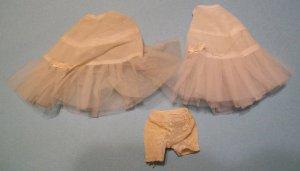 Vintage Barbie (set of 2) Petticoats/Slips #?