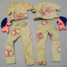 "Vintage Barbie ""Pattern Outfit"" Pajamas"