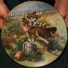 "Bradford Exchange ""Harvest In The Meadow #8595A"" Plate By Glenna Kurz"