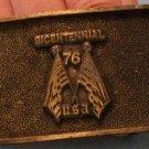 Bicentennial Brass Belt Buckle