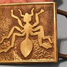 Ant Styled Belt Buckle made by the Star Co.