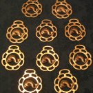 Set of 10 Fish/Koi Horse Brasses (Vintage)