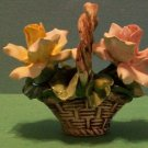 3 Piece Capodimonte Flower Baskets