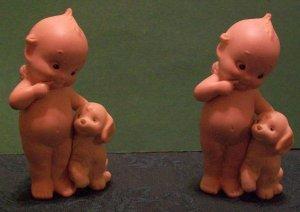 Enesco Bisque kewpie Angels (set of 2)