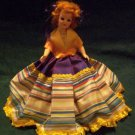 Vintage Blue Ribbon Dolls Co. 71/2 inch Doll.