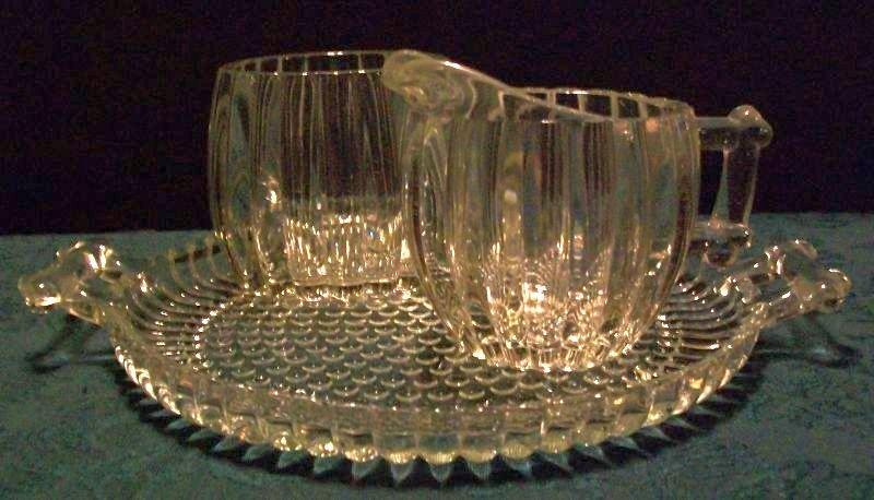 3 Piece National Depression Glass Set
