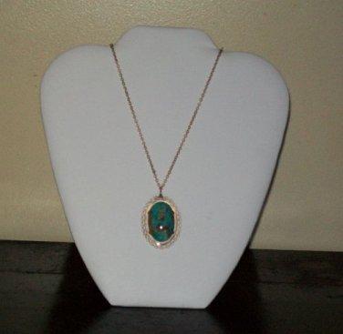 Vintage Krementz Necklace (Gold Overlay)