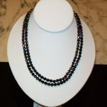 Set of three Vintage Beaded Necklaces (70s)