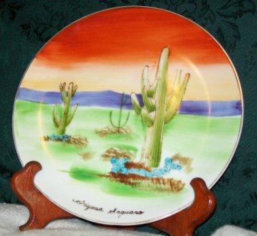 Made in Japan 'Arizona Saguaro' Collectors Plate