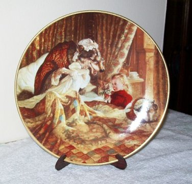 """Knowles """"Little Red Riding Hood"""" Collector's Plate"""
