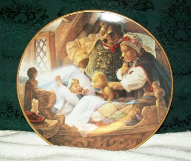 """Knowles """"Goldilocks and the Three Bears"""" Collectors Plate"""