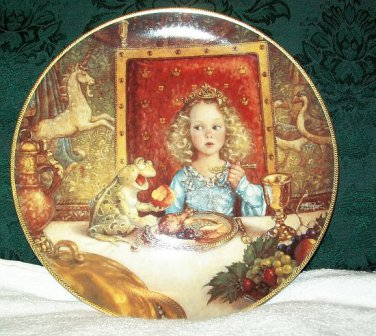 """Knowles """"The Frog Prince"""" Collectors Plate"""