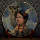 "Perillo ""Small & Wise"" Collectors Plate (Vague Shadows Ltd.)"