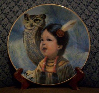 "Perillo ""Small & Wise"" Collectors Plate (Vague Shadows Ltd.)"