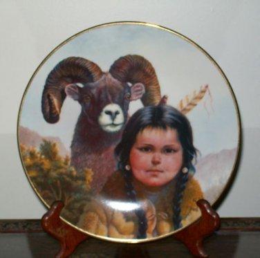"""Perillo """"Noble Companions"""" Collectors Plate"""