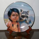 "Perillo ""Dark-Eyed Friends"" Collectors Plate"