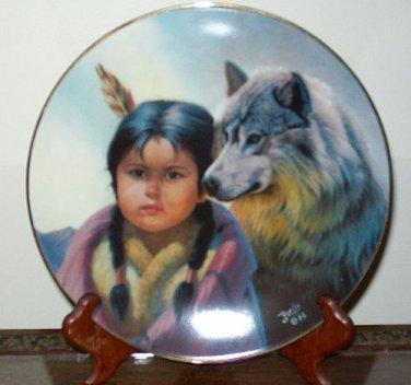 """Perillo """"Loyal Alliance"""" Collectors Plate"""