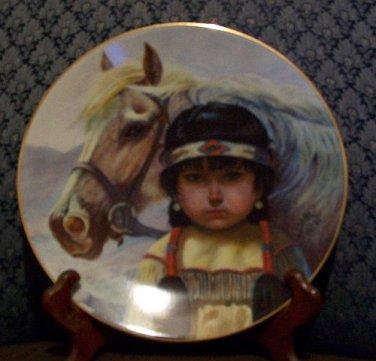 """Perillo """"Kindred Spirits"""" Collectors Plate"""