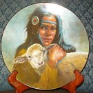 "Perillo ""Lily Of The Mohawks"" Kateri Tekakwitha Collectors Plate"