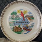 Paden City Pottery state of Kentucky Plate