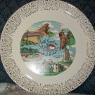 North Carolina Souvenir Collectors Plate