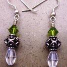 Sterling silver & Swarovski crystal