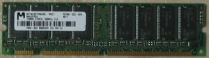 PC100-222-620, 128MB CL2, Micron---free shipping