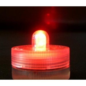 Red Submersible LED- set of 10 Lights-FREE SHIPPING!!!
