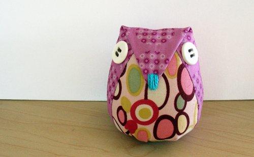 Phoenix - owl pincushion.