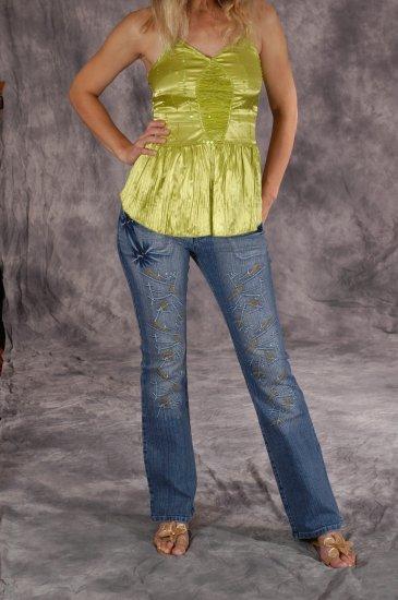 Silver Kiss Stretch Jeans, Size 30/11