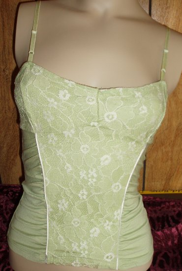 Lime/Light Green Juniors Top, Size Large, L