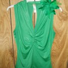 Green Junior's Top, Size Medium, M