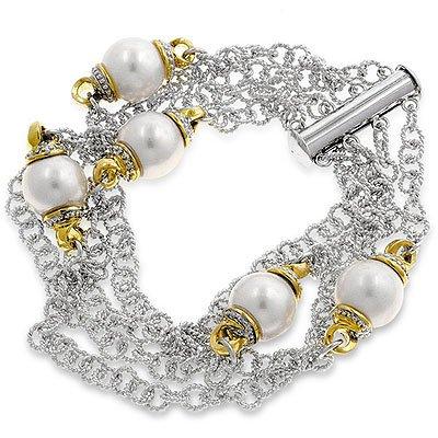 White Shell Pearl Fashion Bracelet