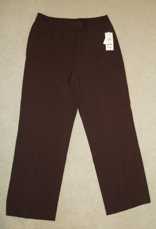 Valerie Stevens women's Brown Dress Pants, size 10
