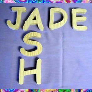 Comic Sans 4 Inch Wood Letters Numbers Craft Signs