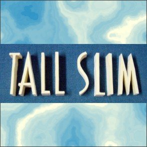 Tall and Slim  4 Inch Wood Letters Numbers Pine Signs