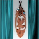 Eagle  Aromatic Cedar Feather Wall Hanging