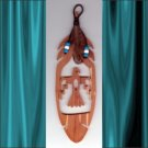 Thunderbird  Aromatic Cedar Feather Wall Hanging