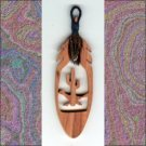 Small Roadrunner  Aromatic Cedar Feather Wall Hanging