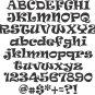 Oak Ravie  8 Inch Wood Letters Numbers Names Wooden