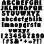 Oak Delightful 5 Inch Wood Letters Numbers Wooden Names