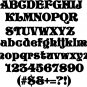 Story Book 4 Inch Wooden Letters Numbers Pine