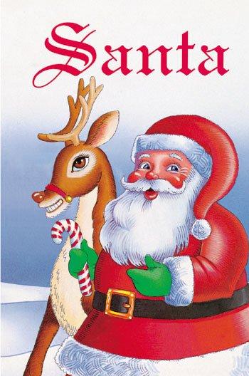 Santa Claus Personalized Children's Book