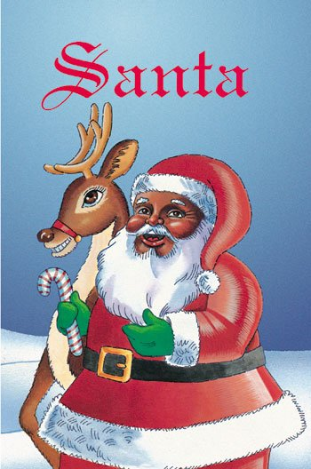 African American Santa Claus Personalized Children's Book