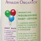 Weightless Nourishing Baby Lotion
