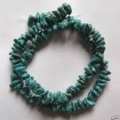 "Turquoise 4x9 Tiny Nugget Beads 16"" strand"