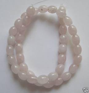 """Rose Quartz 10x8 Barrel Beads 16"""" strand"""